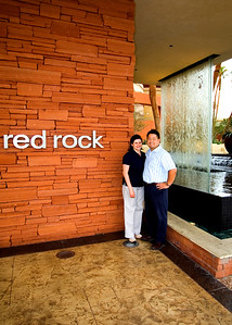 We walked around the Red Rock Hotel & Casino.  It's a really nice place pretty far off the strip on the way to Red Rock Canyon.