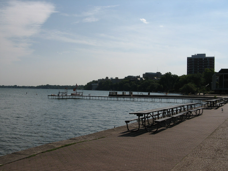 University of Wisconsin at Madison has an awesome lakefront!
