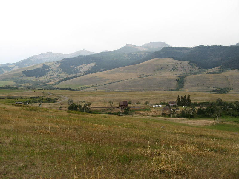 The Anderson Ranch, 20 miles north of Yellowstone NP in Montana