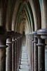 Cloister Garden Arches at the Abbey of Mont-St-Michel<br /> <br /> ~ Image by Martin McKenzie, all rights reserved ~<br />  © copyright digitally watermarked / filigrane numérique copyright ©