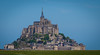 Abbey of Mont-St-Michel from across a field<br /> <br /> ~ Image by Martin McKenzie, all rights reserved ~<br />  © copyright digitally watermarked / filigrane numérique copyright ©