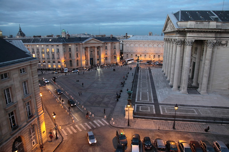 Twilight over Place du Panthéon<br /> <br /> © Martin McKenzie ~ All Rights Reserved ~