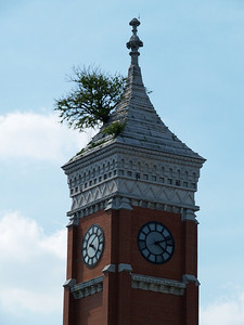 Greensburg Indiana Courthouse  Copyright 2013 Neil Stahl