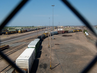 Union Pacific Bailey Sorting Yard, North Platte  Copyright 2013 Neil Stahl