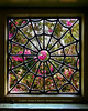 Spider Web Window - The Winchester House, San Jose CA<br /> <br /> Crape Myrtle in bloom, through one of the Spider Web windows of The Winchester House.  If you're ever in the San Jose area, take the tour.  This place is amazing.<br /> <br /> DSCN0739
