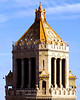 "Cupola & Carillon Enclosure - Plummer Building, Mayo Clinic Campus, Rochester MN<br /> <br /> Late afternoon lighting shows off the outstanding architectural highlights of the top level of the Plummer Building.  A pair of nurses is placed at each corner, above the large gargoyles.  The fifty-six bells of the Rochester Carillon are installed behind the columns beneath the cupola.<br /> <br /> More information on the Mayo / Rochester Carillon is available at this link:<br /> <br /> <a href=""http://minnesota.publicradio.org/display/web/2009/12/29/mayo-carillon"">http://minnesota.publicradio.org/display/web/2009/12/29/mayo-carillon</a><br /> <br /> That extra bit of ornamentation on the pinnacle of the cupola?  It's a peregrine falcon.  Closer view available in another image in this gallery."