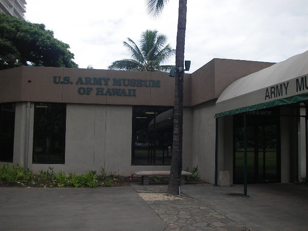 Oct. 18, 2008. Home of the 442. US Army Museum off Waikiki.