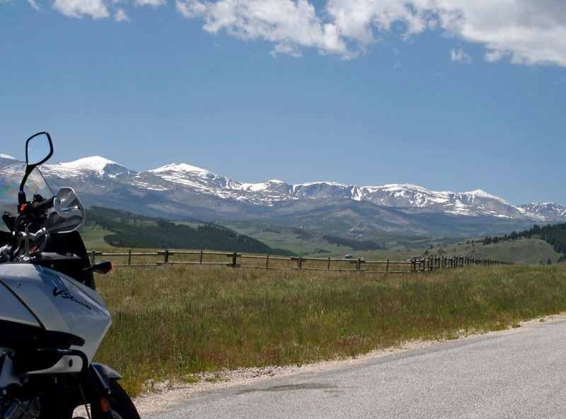 Crossing the mountain pass on Hwy 16, in Wyoming, the sights are abundant. This location is just West of Buffalo.