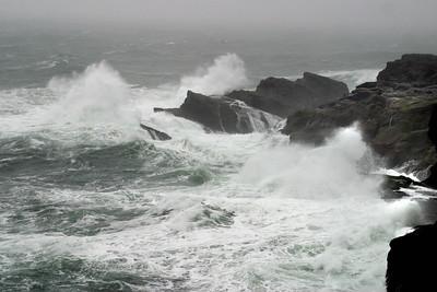 Oregon shore, Hwy 101. March 9, 2011