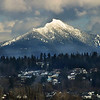Mount Pilchuck from  Interstate 5 , March 19, 2011
