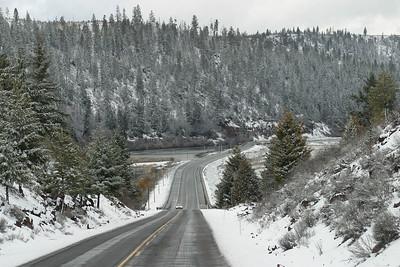 Oregon Highway 140, March 18, 2011.