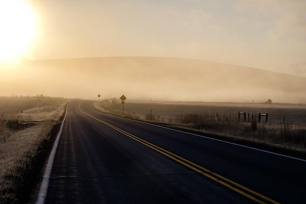 Misty Montana Road