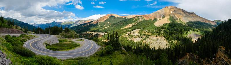 Highway 550 Panorama