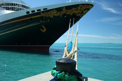 Disney Magic in port - Key West, Florida - March 7, 2010