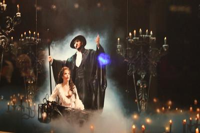 Phantom of the Opera and Halloween on Joe's birthday in New York City