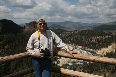 Gary at Grand canyon of Yellowstone