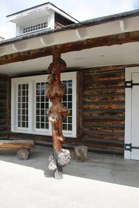 Norris Campground ranger station