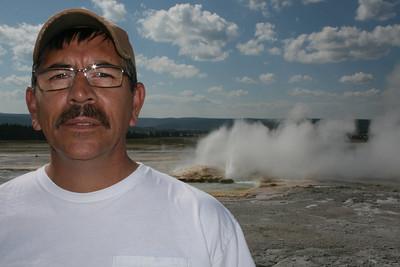 Joe, geyser