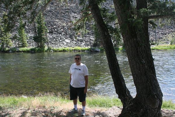 Gary at Yellowstone River