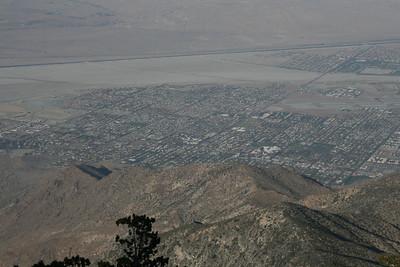 Tram ride to San Jacinto Mountain, Palm Springs, California
