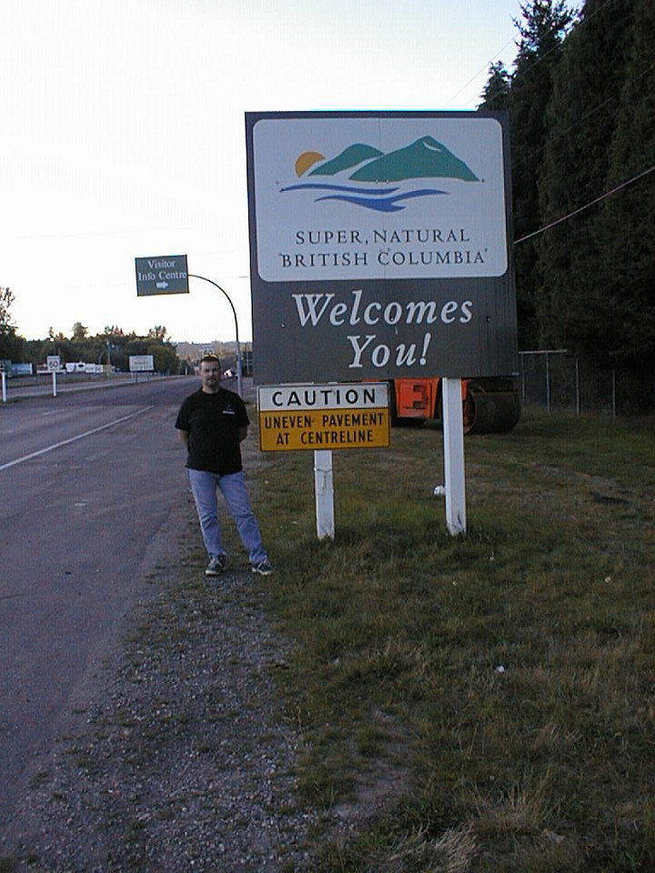 Northwest Tour 2000 - July-August, 2000 - British Columbia, Canada