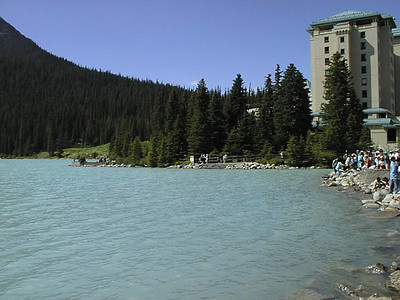 Northwest Tour 2000 - July-August, 2000 - Lake Louise  - Banff National Park, Alberta, Canada