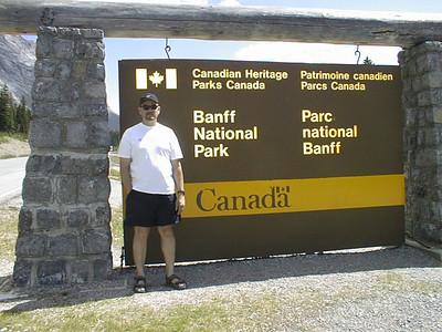 Northwest Tour 2000 - July-August, 2000  - Banff National Park, Alberta, Canada