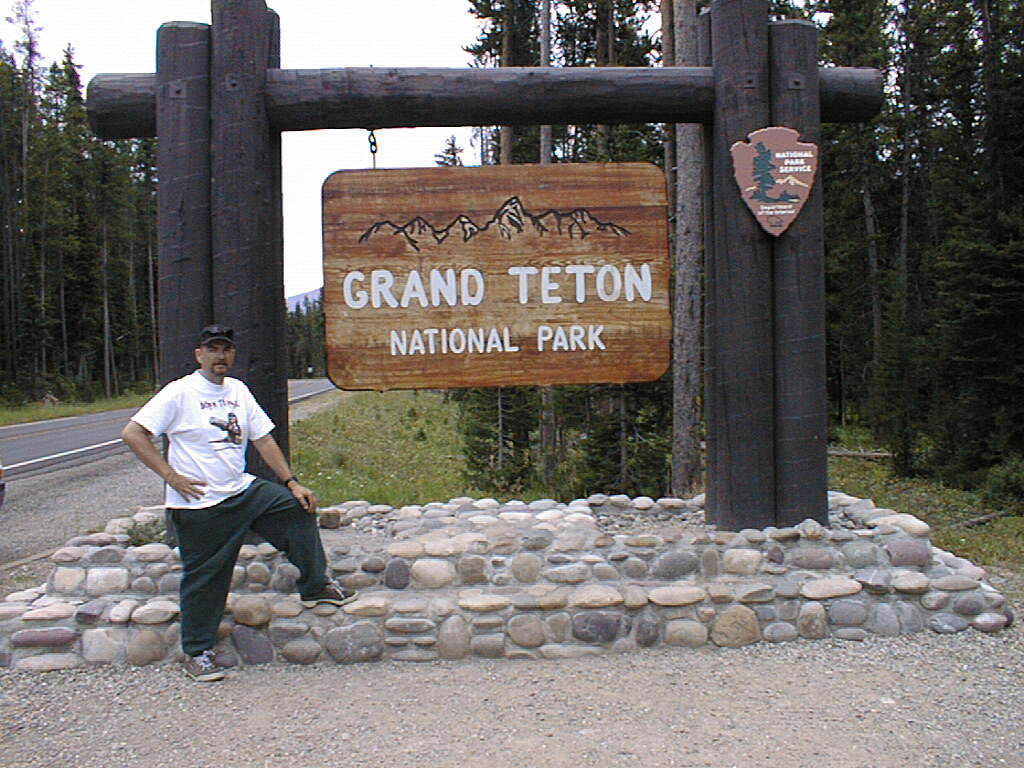 Northwest Tour 2000 - July-August, 2000  - Grand Teton National Park, Wyoming
