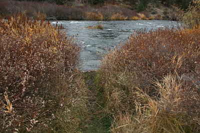 Dechutes River at Tumalo State Park, Bend, Oregon