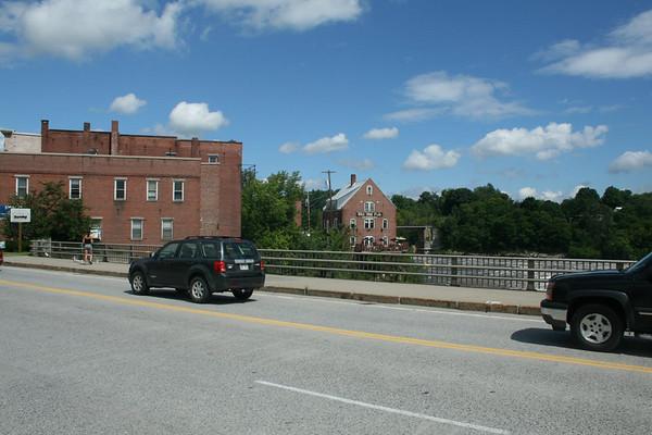 Skowhegan, Maine on the drive between Bangor and Burlington, Vermont via Berlin, New Hampshire