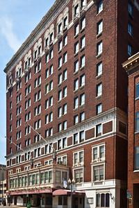 The old Patrick Henry Hotel in Roanoke, VA.  Under Renovation...finally.