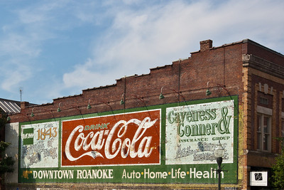 Old Signs in Downtown Roanoke
