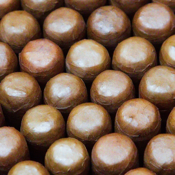 273 After an afternoon in downtown Tampa we went back to Ybor City. Chocolate malt balls? No, cigars, what Ybor City is famous for.