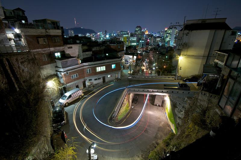 Ihwa-dong P-turn