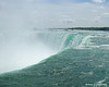Water cresting over the Horseshoe Falls