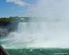 Looking from one edge of the Horseshoe falls to the other