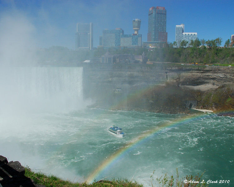 Double rainbow at the Horseshoe Falls