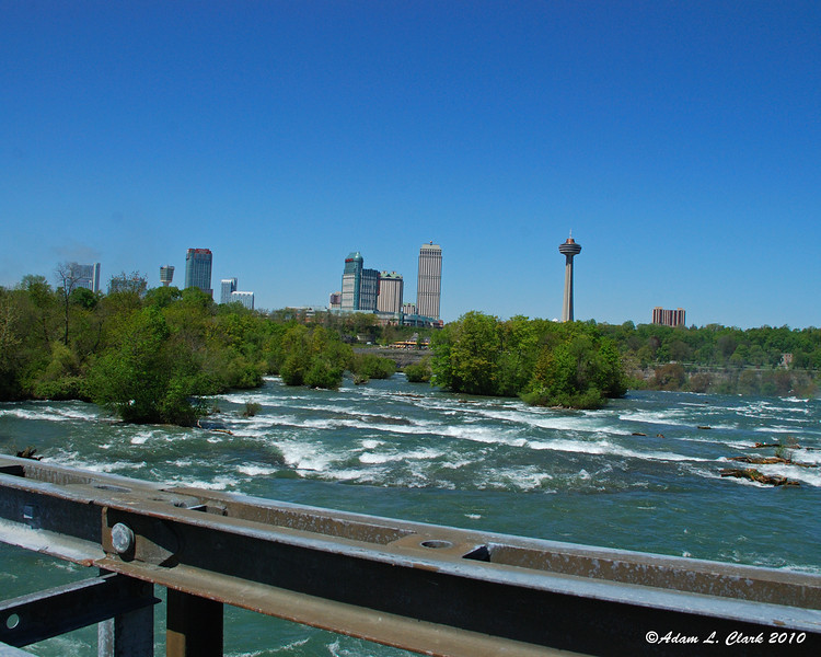 Water upstream of the American Falls