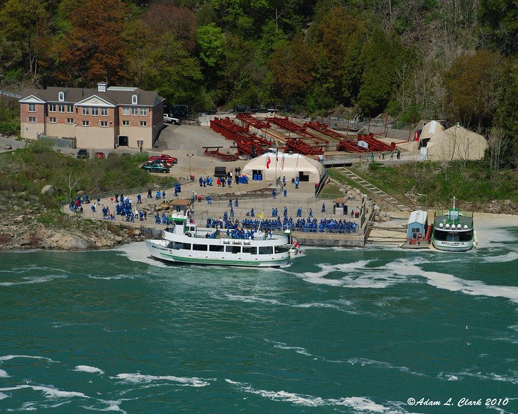 Maid of the Mist boat dock