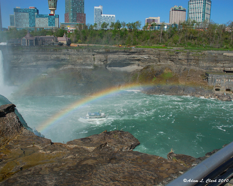 Double rainbow at Horseshoe Falls