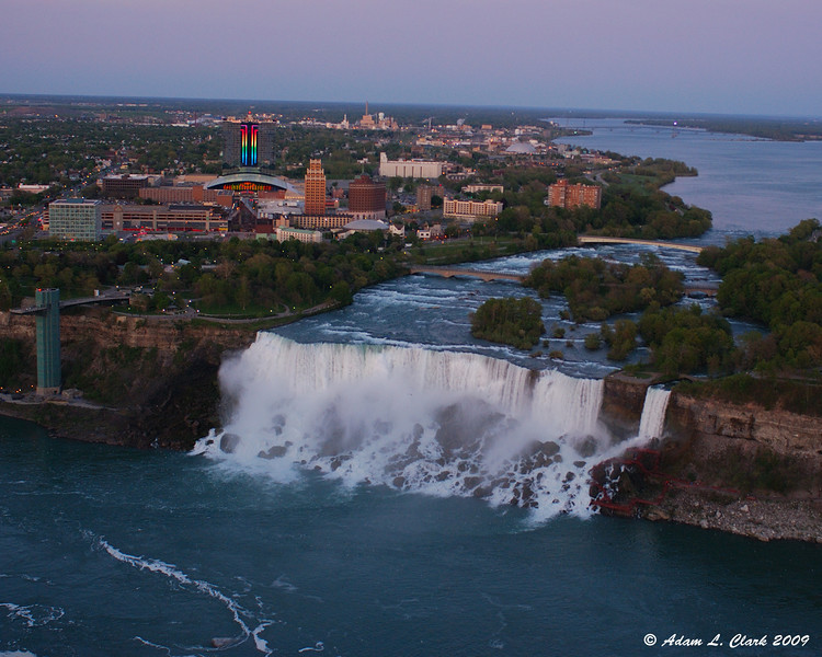 American Falls from the outdoor observation deck