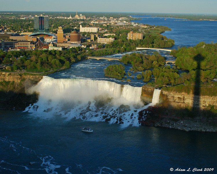 American Falls from our dinning table