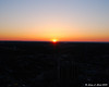 Sunset from the outdoor observation deck