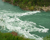 River entering the whirlpool
