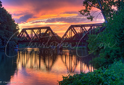 Pittsford Rail bridge