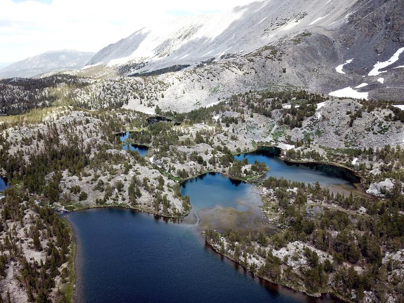 Box Lake from 400 feet.