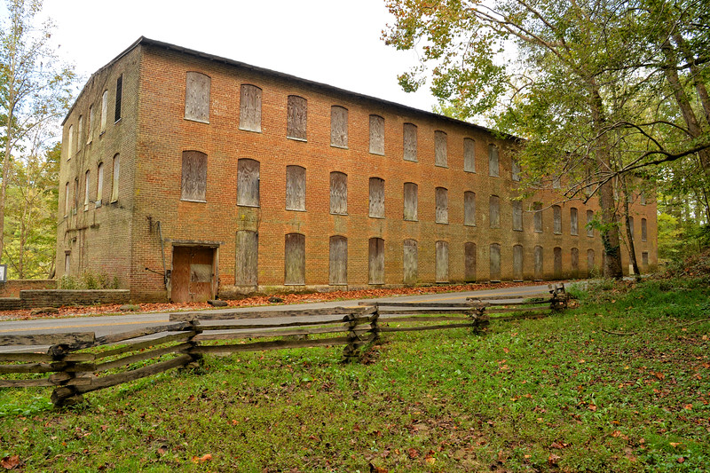 Old Cotton Mill at Rock Island State Park, TN