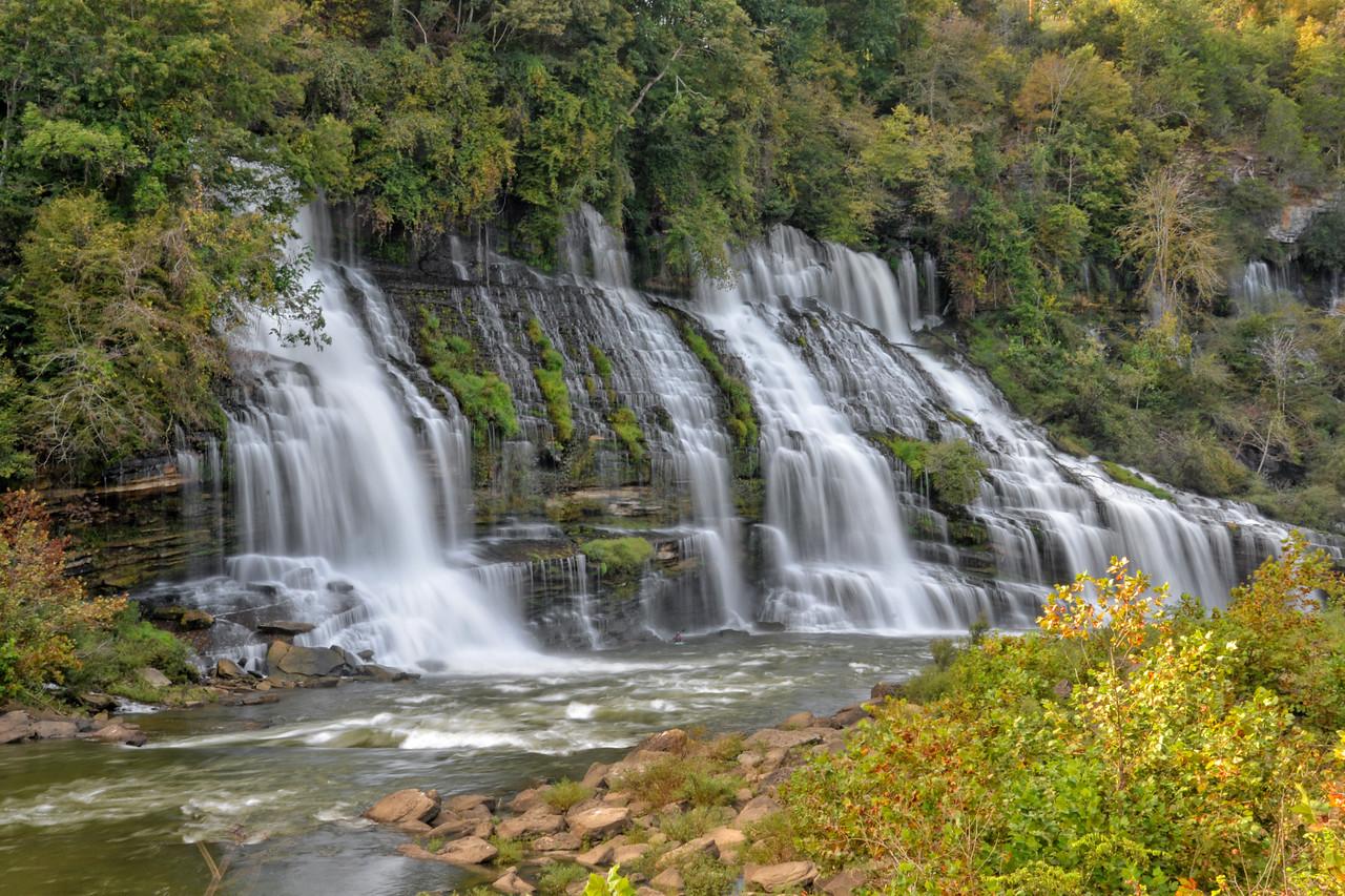 Rock Island State Park, TN - Twin Falls