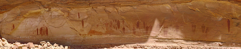 Great Gallery - Horseshoe Canyon (Best Viewed at X3)