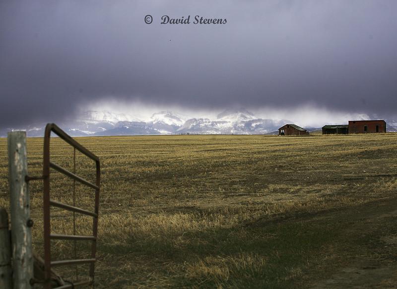 Montana rainstorm